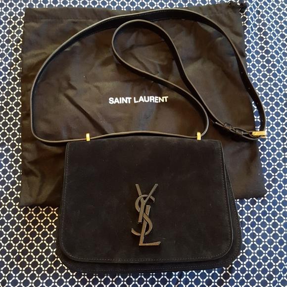 1404463a34c Yves Saint Laurent Bags | Spontini Suede Crossbody | Poshmark